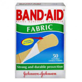 Band-Aid Fabric Strips 50