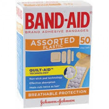 Band-Aid Plast/Shape   50
