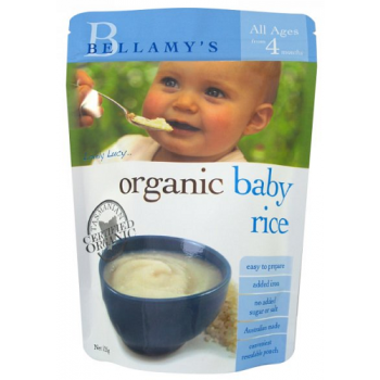 Bellamy's Organic Baby Rice 125g