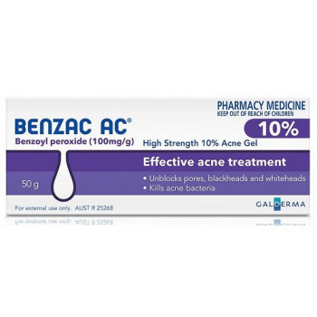 Benzac Ac Gel 10% 50Gm