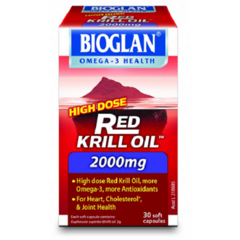 Bioglan Red Krill Oil 2000mg 30 Capsules