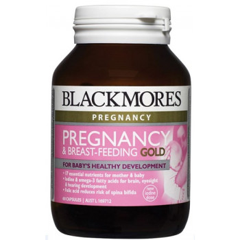 Blackmores Pregnancy And Breast-Feeding GOLD 60 Caps