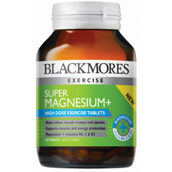Blackmores Super Magnesium + 100 Tablets