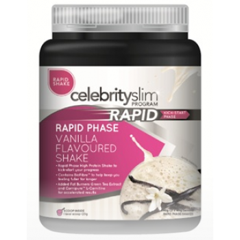 Celebrity Slim Rapid Shake 840g (21 Serves) Vanilla