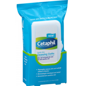 Cetaphil Gentle Skin Cleansing Cloths 25