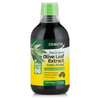 Comvita Olive Leaf Extract Peppermint Flavour 500ml