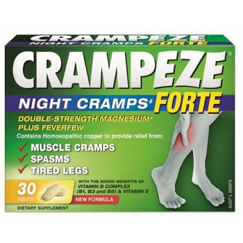 Crampeze Night Cramps Forte 30 Tablets