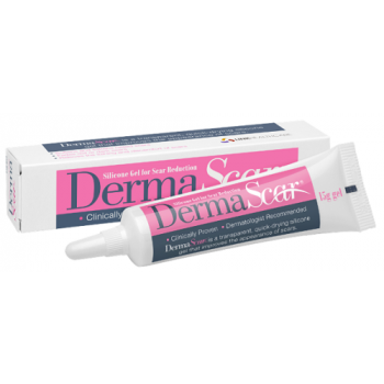 DermaScar Silicone Scar Reduction Gel 15g