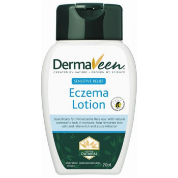 DermaVeen Sensitive Relief Eczema Lotion 250ML