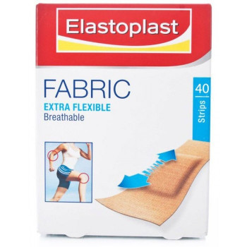 Elastoplast Fabric Strips (19 x 65mm) 40 Strips