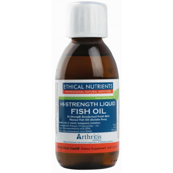 Ethical Nutrients Liquid Fish Oil Fresh Mint 170mL