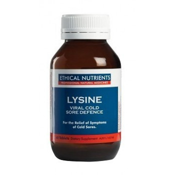 Lysine Viral Cold Sore Defence 30 Tabs