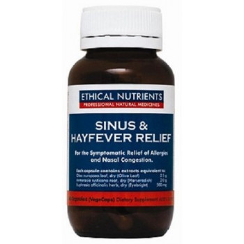Sinus and HayFever Relief 60 VegeCaps