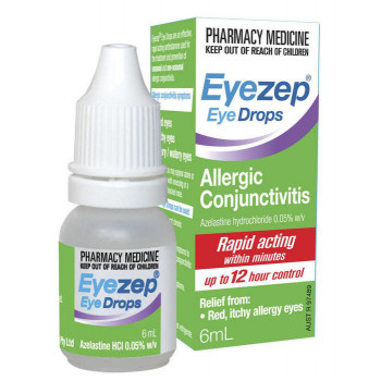 EyeZep Allergy Relief Eye Drops 6Ml