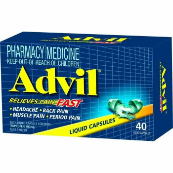 Advil Liquid Caps x40