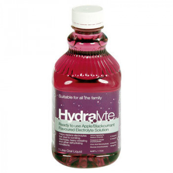 Hydralyte Liquid Apple and Blackcurrant 1L
