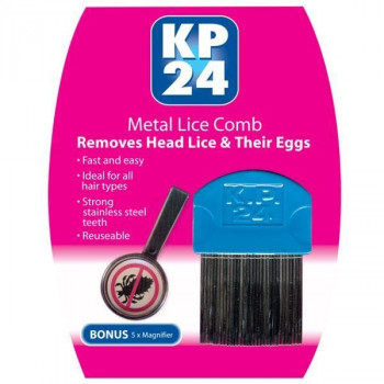 KP 24 Metal Comb for Head Lice