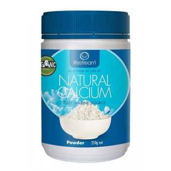 LifeStream Natural Calcium 250g Powder