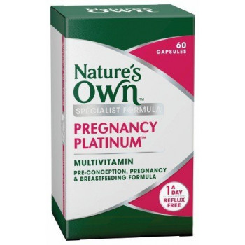 Nature's Own Pregnancy Platinum Multivitamin Capsules 60