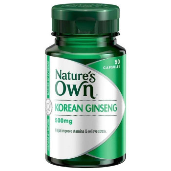 Nature's Own Korean Ginseng 50 Caps