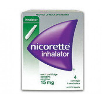 Nicorette Inhalator 15mg X 4