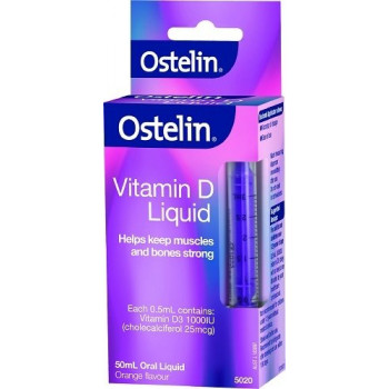 Ostelin Vitamin D Liquid Orange 50Ml