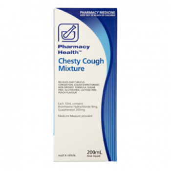 Pharmacy Health Chesty Cough Mixture 200Ml