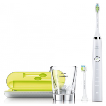 Philips Diamond Clean Sonic Toothbrush White