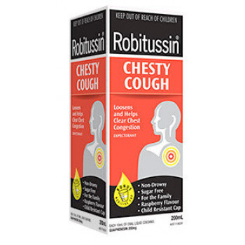 Robitussin Chesty Cough 200mL