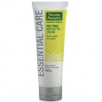Tea Tree Antiseptic Cream 100g Thursday Plantation