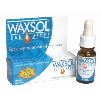 Waxsol Ear Drop 10Ml