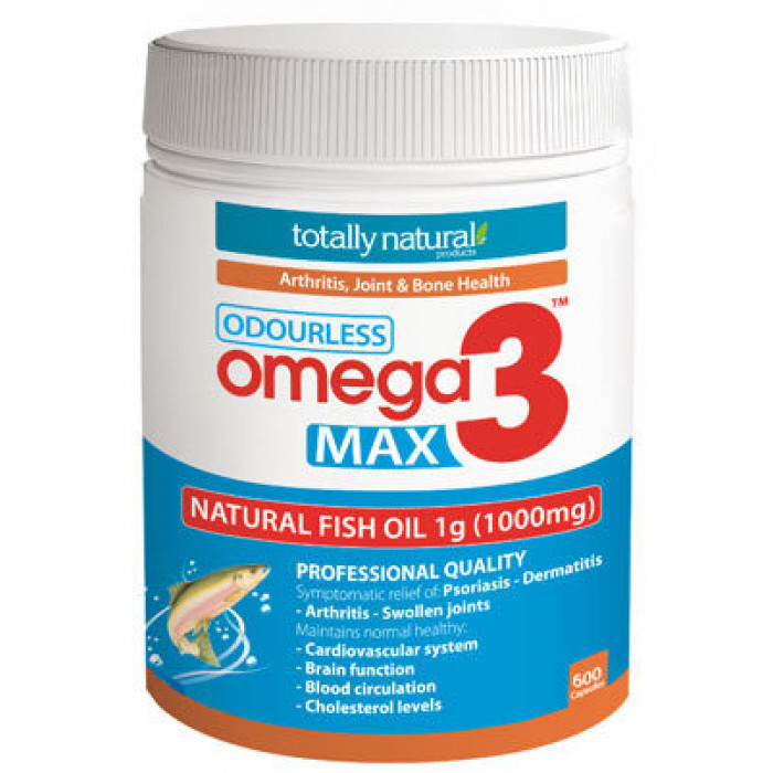 Caruso 39 s omega3 max natural fish oil 1000mg 600caps your for Organic fish oil