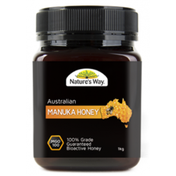 Nature's Way Australian Manuka Honey 100 MGO 1kg