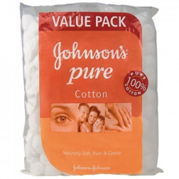 J&J Cotton Balls White 120