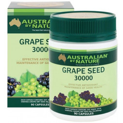 Australian By Nature Grape Seed 90 Capsules