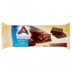 Atkins Advantage Choc Brownie Bar 15 X 60g