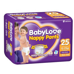 BabyLove Nappy Pants Walker Bulk Pack 25
