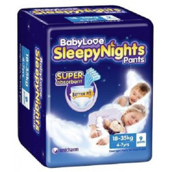 BabyLove SleepyNights 4-7years 9 Pants