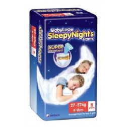 BabyLove SleepyNights 8-15years 8 Pants