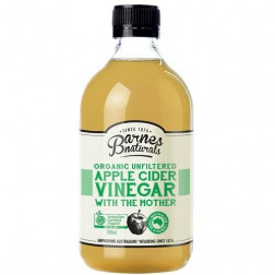 Barnes Naturals Organic Apple Cider Vinegar  500ml