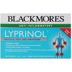 Blackmores Lyprinol 50mg Value Pack x100 Capules