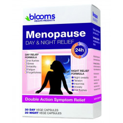 Blooms Menopause Day and Night Relief 60 Caps
