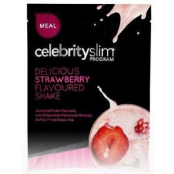 Celebrity Slim Meal Shake 55g X 12 Strawberry