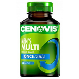 Cenovis Once Daily Men's Muti Viamins & Minerals 50 Capsules