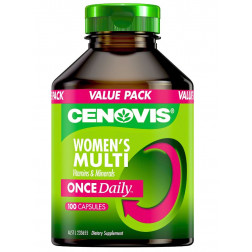 Cenovis Once Daily Women's Multi Vitamins & Minerals - 100 Capsules