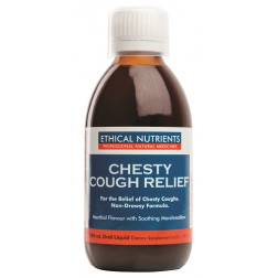 Ethical Nutrients Chesty Cough Relief 200mL
