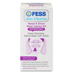 Fess Sinu-Cleanse Nasal and Sinus Wash Starter Kit