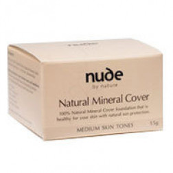 Nude By Nature Mineral Cover LIGHT/MEDIUM 15G