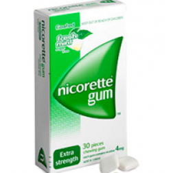 Nicorette Gum Fresh Mint Regular 2mgx 30