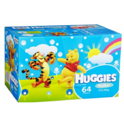 Huggies Nappies Walker Boy 13-18kg Jumbo 64